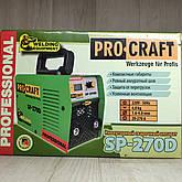 Сварочный аппарат инвертор Procraft SP-270D, фото 3