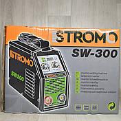 Форсаж дуги! Зварювальний апарат Stromo SW 300 А +Маска Хамелеон, фото 2