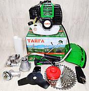 Бензокоса Тайга ТБТ-6100 (2 ножа 1 катушка), фото 2