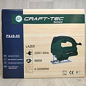 Електричний лобзик Craft-tec PXJS-65 з лазером електролобзик, фото 2