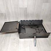Мангал 3 мм раскладной с столиком на 7 шампуров, фото 3