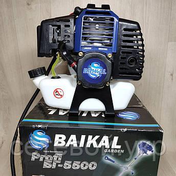Бензокоса Байкал Profi БГ- 5500 мотокоса, фото 2