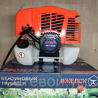 Мотокоса Искра Professional ИБТ-6200 бензокоса, фото 2