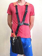 Ремень двухплечевой рюкзачного типа для мотокосы., фото 3