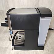 Кофеварка рожковая Grunhelm GEC15 кофемашина, фото 3