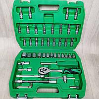 Набор инструментов INTERTOOL состоит из ключей головок 46 единиц