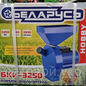 Кормоизмельчитель Зернодробилка Беларусь БКИ - 3250 Вт 240 кг в час, фото 2