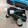 Уровень лазерный нивелир Kraissmann 12 3D-LL 25 зеленый луч на аккумуляторе, фото 6
