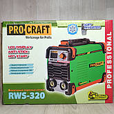 Сварочный аппарат Procraft RWS-320 + Болгарка + Маска хамелеон, фото 3