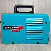 Зварювальний апарат Grand ММА-320 + болгарка, фото 3