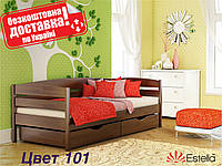 Кровать детская Нота Плюс Деревянная Бук Щит