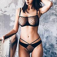 Сексуальный комплект белья бюстгальтер и трусики JF 0990 S, фото 1