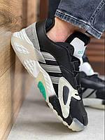 Adidas Streetball кроссовки мужские Адидас Стритбол черно-белые