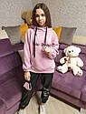 Свитшот, худи, толстовка утепленная для девочки подростка Размеры 140-164 тм Madlen, фото 7