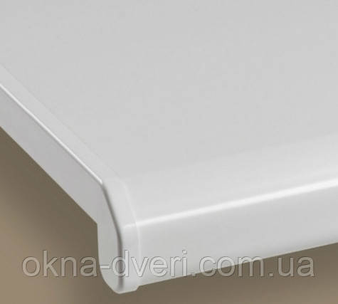 Подоконник Данке Комфорт белый матовый глубиной 350 мм