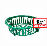 Корзина для луковичных круглая 28,5см Алеана (Корзина для луковиц круглая 28,5*6,4см)