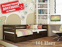 Кровать детская Нота Деревянная Бук Щит