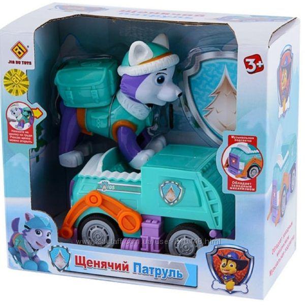 Щенячий патруль игрушка музыкальная с подсветкой на батарейках Эверест