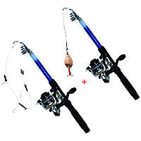 Удочка - спиннинг 2 шт. | Универсальный набор для начинающего рыбака №2