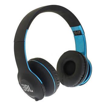 Наушники беспроводные Bluetooth J B L J300 black/blue