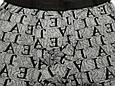 Трусы мужские боксеры бамбук Veenice серый буквы 50 размер, фото 2