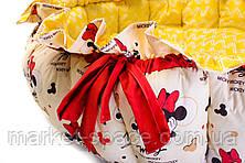 """Мягкий детский игровой манеж матрасик для новорожденных """"Miss Mini"""", фото 3"""