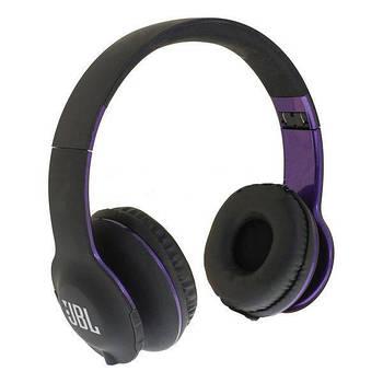 Наушники беспроводные Bluetooth J B L J300 black/violet