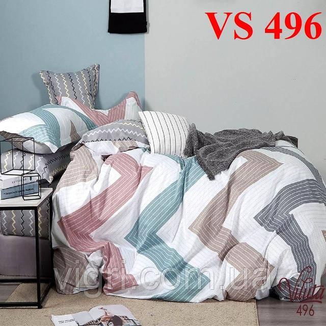 Постельное белье двуспальное, сатин, Вилюта «Viluta» VS 496
