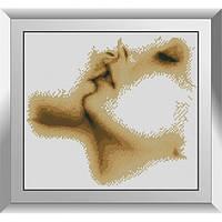 31373 Целуй. Dream Art. Набор алмазной живописи (квадратные, полная)