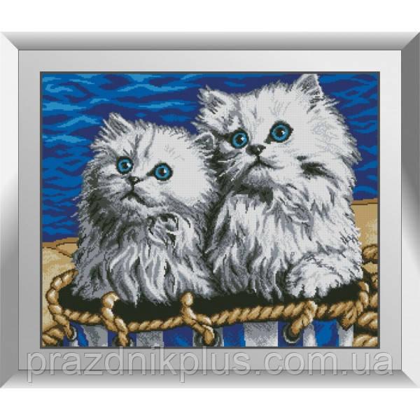 31391 Одесские котики. Dream Art. Набор алмазной живописи (квадратные, полная)