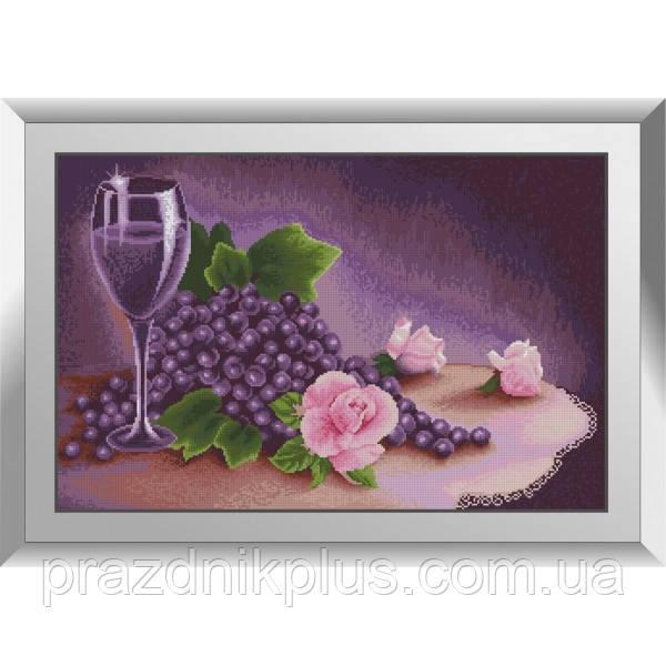 31473 Лиловый натюрморт. Dream Art. Набор алмазной живописи (квадратные, полная)