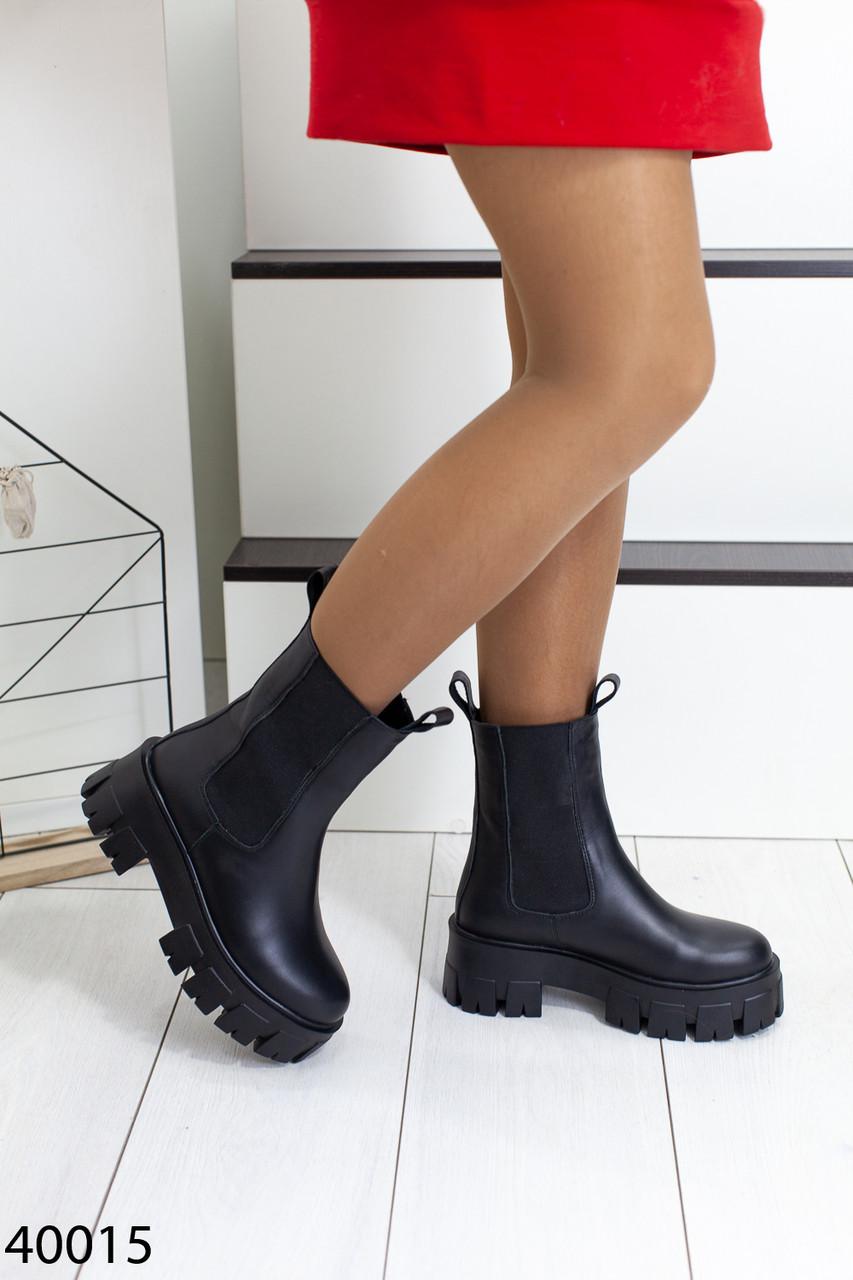 Ботинки женские зима натуральная кожа и мех