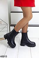 Ботинки женские зима натуральная кожа и мех, фото 1