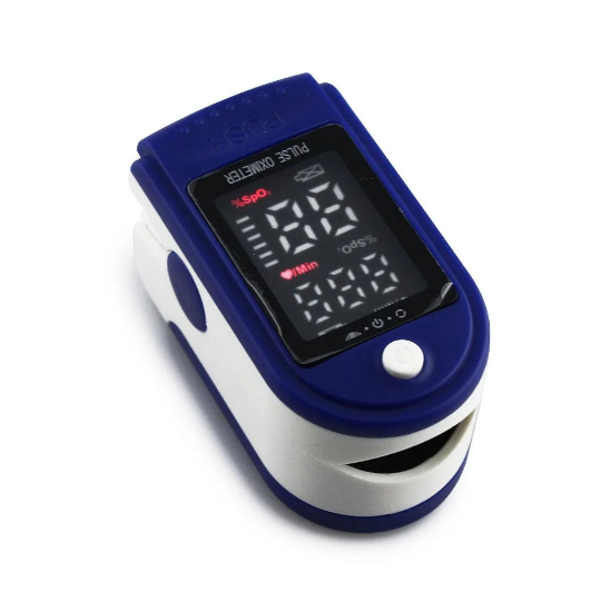 Пульсоксиметр LK-87 для измерения уровня кислорода в крови и пульса