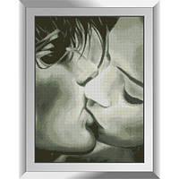 31516 Сладкий поцелуй. Dream Art. Набор алмазной живописи (квадратные, полная)