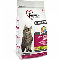 1st CHOICE (Фест Чойс) Sterilized - Сухой корм с курицей для стерилизованных взрослых кошек (10 кг.)