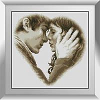 31557 Джек и Лорен. Dream Art. Набор алмазной живописи (квадратные, полная)