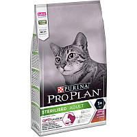 Purina Pro Plan (Пурина Про План) Sterilised Adult Duck with Liver - Сухой корм для стерилизованных кошек с