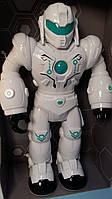 Детский Робот, свет, звук, на батарейках, в коробке 27122, фото 1