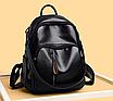 Рюкзак женский кожаный городской Yilanduo, фото 3