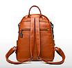 Рюкзак женский кожаный городской Yilanduo, фото 5