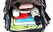 Рюкзак женский кожаный городской Yilanduo, фото 10