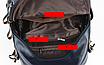 Рюкзак женский кожаный городской Yilanduo, фото 9