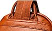 Рюкзак женский кожаный городской Yilanduo, фото 7