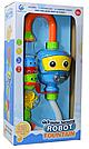 Игрушка для ванной Водопад робот голубой , фото 2