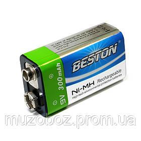 Beston CR-9V 300mAh Ni-MH аккумулятор крона