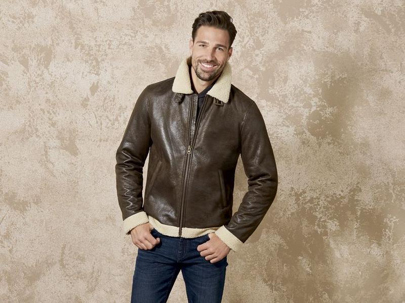 Чоловіча куртка-дублянка Livergy Розмір 50