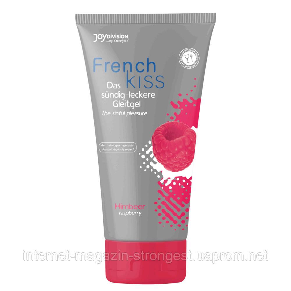 Їстівний лубрикант Frenchkiss Raspberry (малина), 75 мл