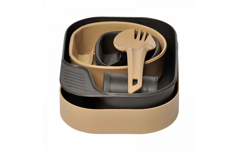 Набор посуды Wildo® CAMP-A-BOX® Complete - Khaki/Grey