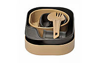 Набор посуды Wildo® CAMP-A-BOX® Complete - Khaki/Grey, фото 1